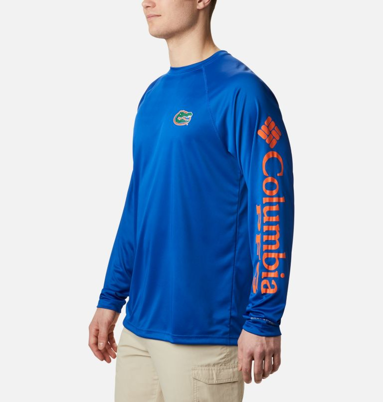 Men's Collegiate PFG Terminal Tackle™ Long Sleeve Shirt - Florida Men's Collegiate PFG Terminal Tackle™ Long Sleeve Shirt - Florida, a1