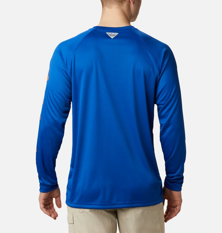 Men's Collegiate PFG Terminal Tackle™ Long Sleeve Shirt - Florida Men's Collegiate PFG Terminal Tackle™ Long Sleeve Shirt - Florida, back