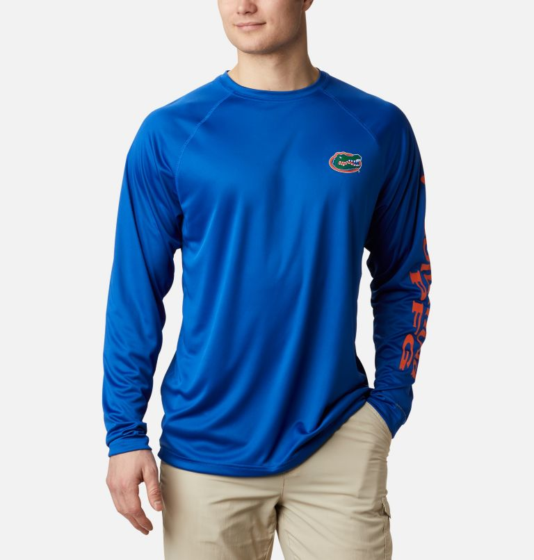 Men's Collegiate PFG Terminal Tackle™ Long Sleeve Shirt - Florida Men's Collegiate PFG Terminal Tackle™ Long Sleeve Shirt - Florida, front