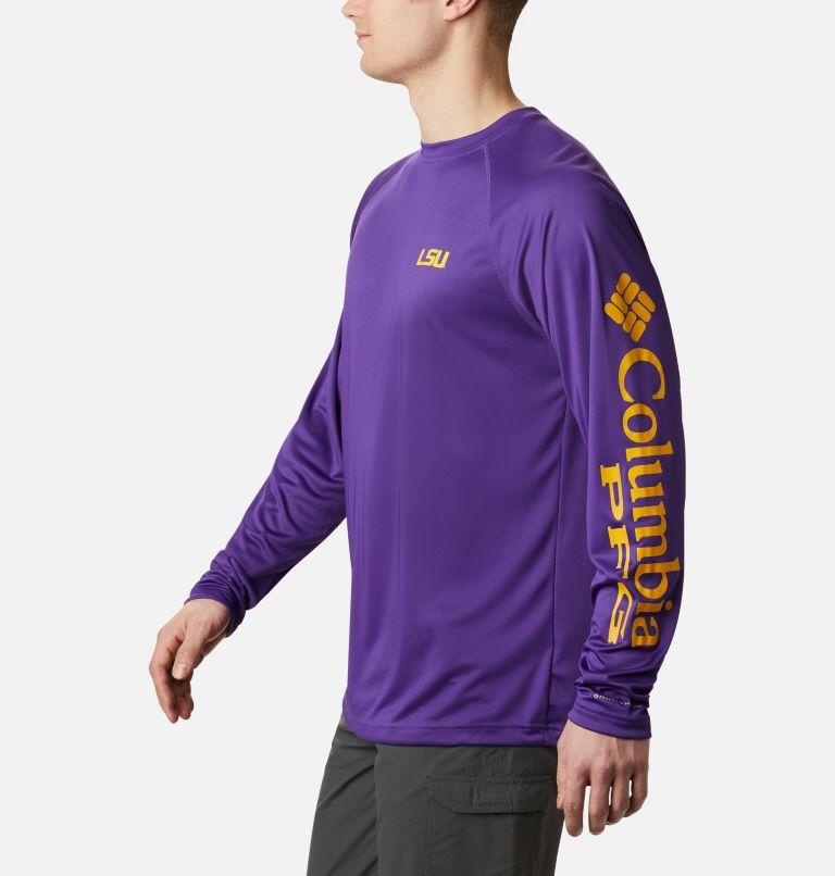 Men's Collegiate PFG Terminal Tackle™ Long Sleeve Shirt - LSU Men's Collegiate PFG Terminal Tackle™ Long Sleeve Shirt - LSU, a1