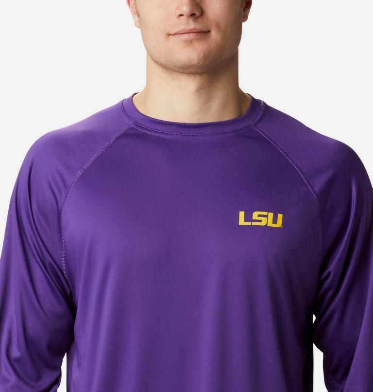 Men's Collegiate PFG Terminal Tackle™ Long Sleeve Shirt - LSU Men's Collegiate PFG Terminal Tackle™ Long Sleeve Shirt - LSU, a2