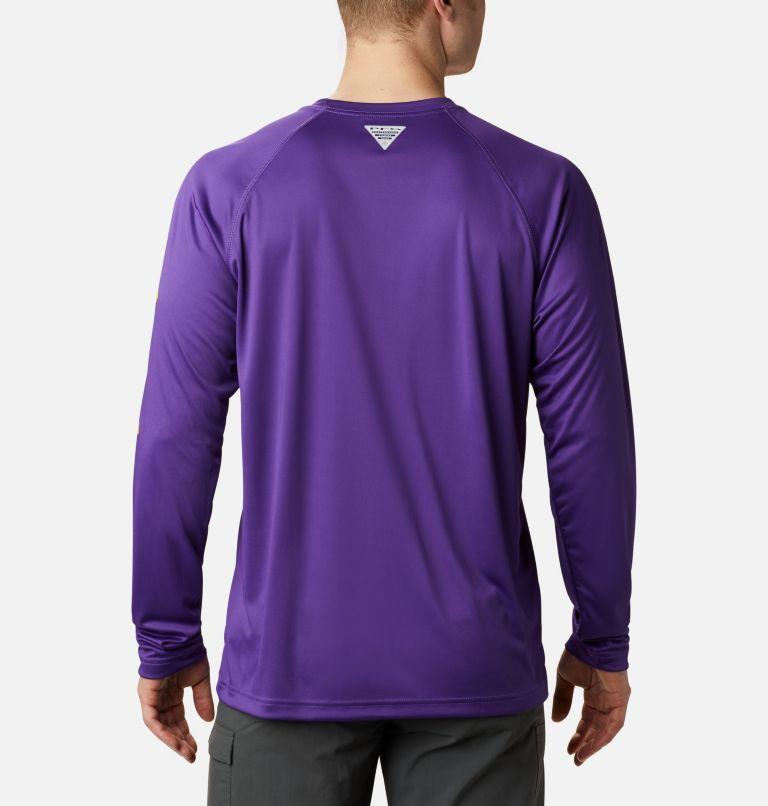 Men's Collegiate PFG Terminal Tackle™ Long Sleeve Shirt - LSU Men's Collegiate PFG Terminal Tackle™ Long Sleeve Shirt - LSU, back