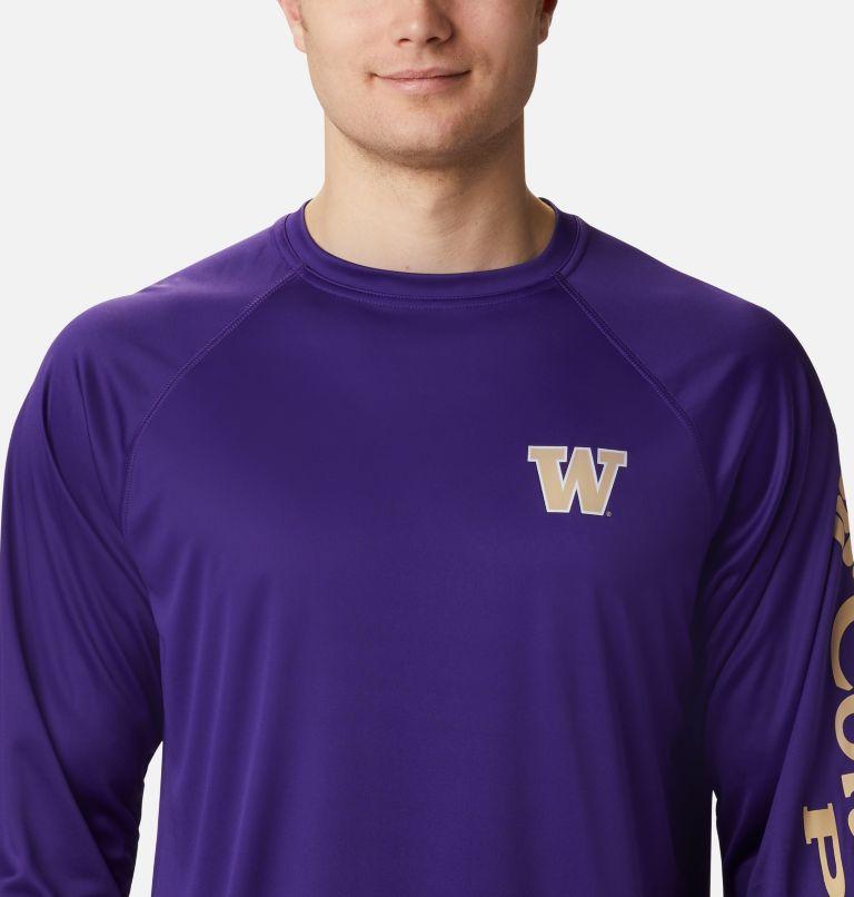Men's Collegiate PFG Terminal Tackle™ Long Sleeve Shirt - Washington Men's Collegiate PFG Terminal Tackle™ Long Sleeve Shirt - Washington, a2
