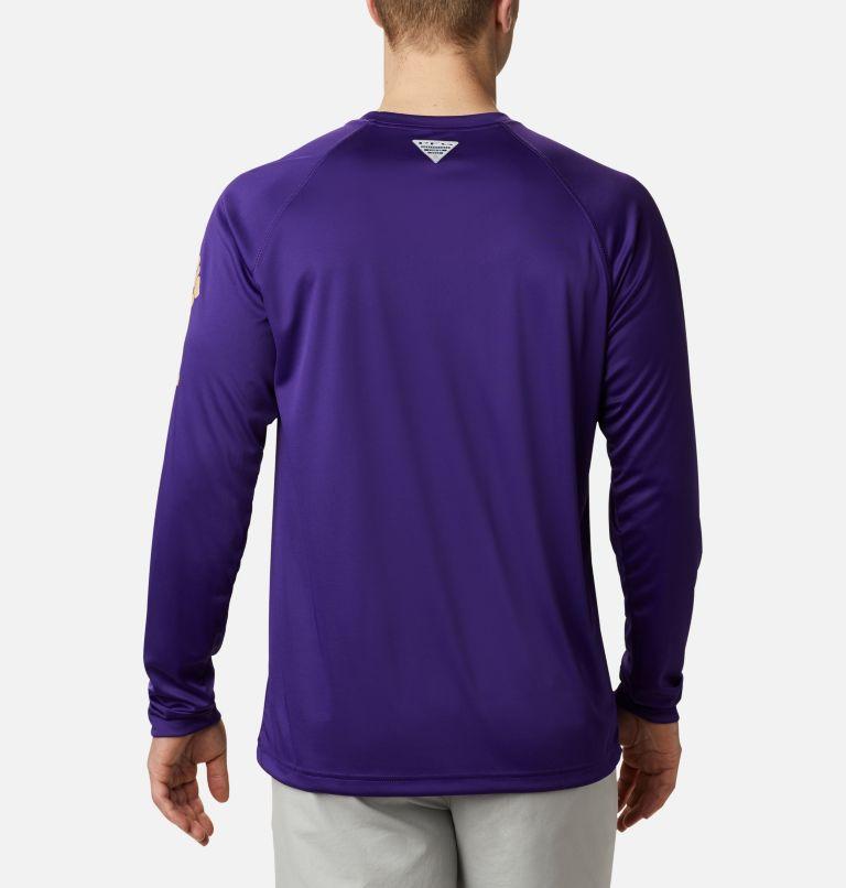 Men's Collegiate PFG Terminal Tackle™ Long Sleeve Shirt - Washington Men's Collegiate PFG Terminal Tackle™ Long Sleeve Shirt - Washington, back