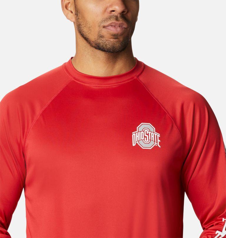 Men's Collegiate PFG Terminal Tackle™ Long Sleeve Shirt - Ohio State Men's Collegiate PFG Terminal Tackle™ Long Sleeve Shirt - Ohio State, a2