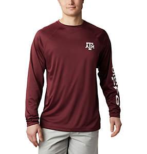 Men's Collegiate PFG Terminal Tackle™ Long Sleeve Shirt - Texas A&M