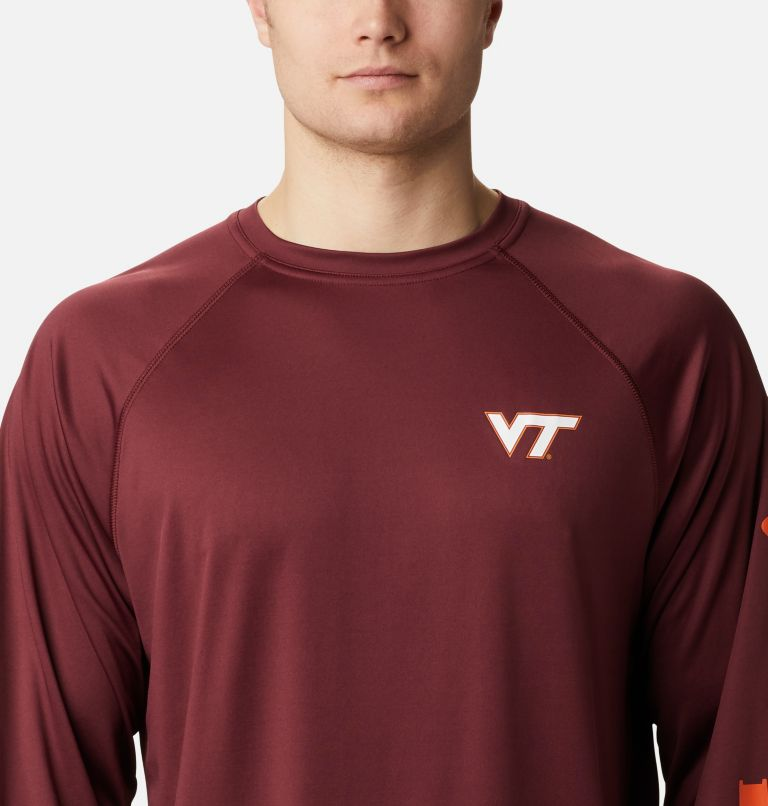 Men's Collegiate PFG Terminal Tackle™ Long Sleeve Shirt - Virginia Tech Men's Collegiate PFG Terminal Tackle™ Long Sleeve Shirt - Virginia Tech, a2