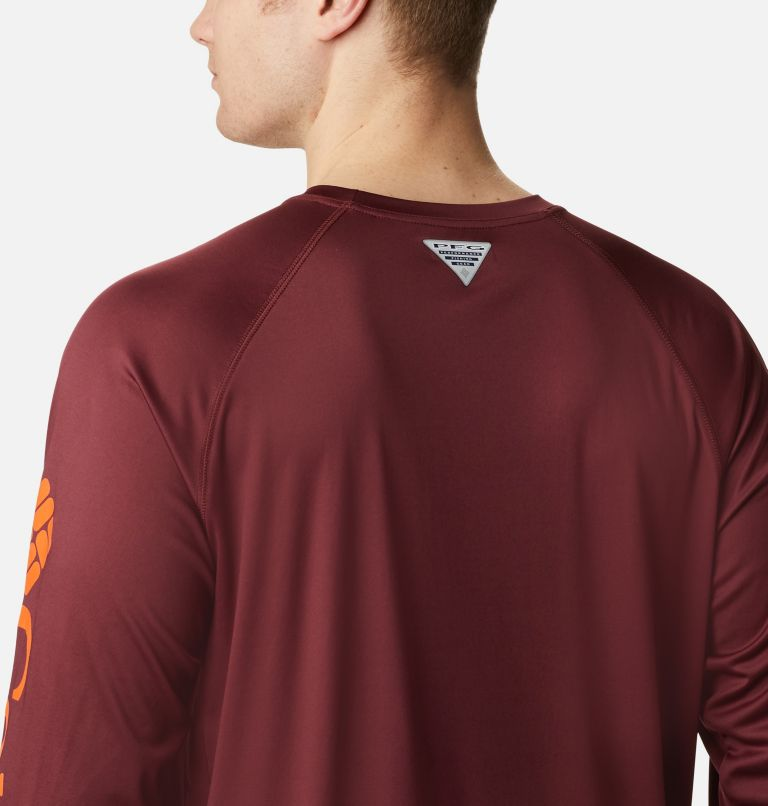 Men's Collegiate PFG Terminal Tackle™ Long Sleeve Shirt - Virginia Tech Men's Collegiate PFG Terminal Tackle™ Long Sleeve Shirt - Virginia Tech, a3