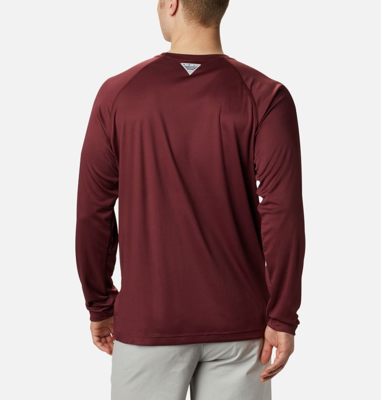 Men's Collegiate PFG Terminal Tackle™ Long Sleeve Shirt - Virginia Tech Men's Collegiate PFG Terminal Tackle™ Long Sleeve Shirt - Virginia Tech, back