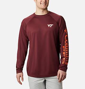 Men's Collegiate PFG Terminal Tackle™ Long Sleeve Shirt - Virginia Tech