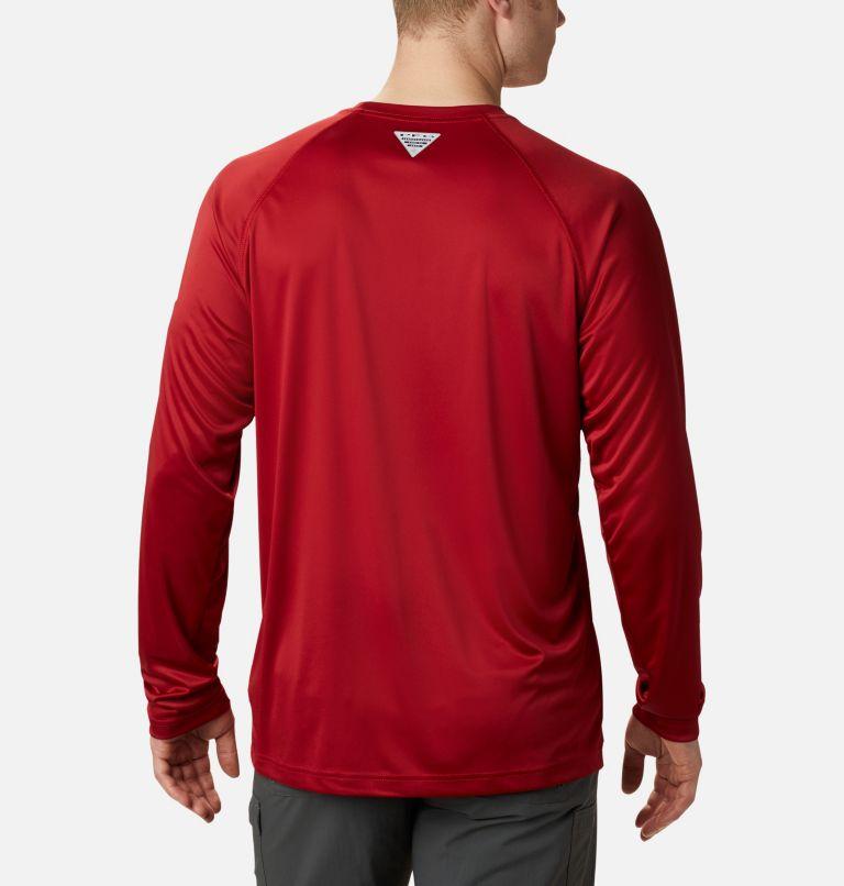 Men's Collegiate PFG Terminal Tackle™ Long Sleeve Shirt - Alabama Men's Collegiate PFG Terminal Tackle™ Long Sleeve Shirt - Alabama, back