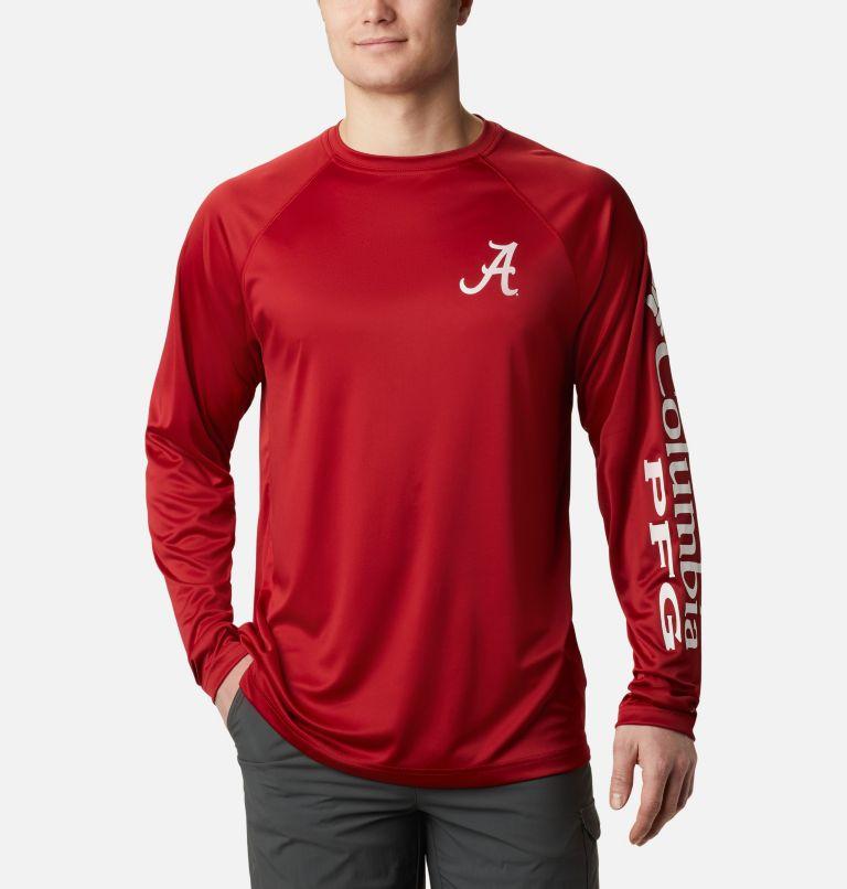 Men's Collegiate PFG Terminal Tackle™ Long Sleeve Shirt - Alabama Men's Collegiate PFG Terminal Tackle™ Long Sleeve Shirt - Alabama, front