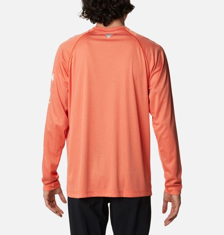 Men's Collegiate PFG Terminal Tackle™ Long Sleeve Shirt - Clemson Men's Collegiate PFG Terminal Tackle™ Long Sleeve Shirt - Clemson, back