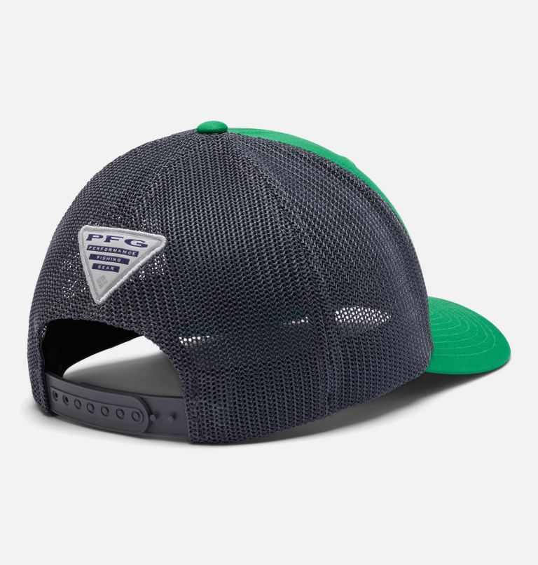 CLG PFG Mesh Snap Back™ Ball Cap | 345 | O/S PFG Mesh Snap Back™ Ball Cap - Oregon, UO - Fuse Green, Charcoal, back