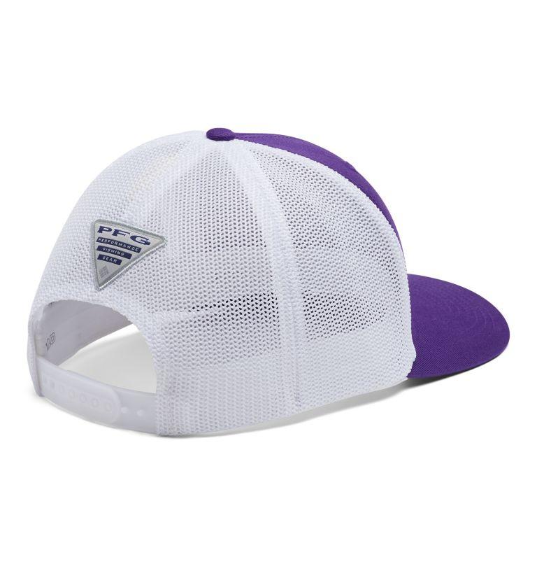 CLG PFG Mesh Snap Back™ Ball Cap | 558 | O/S PFG Mesh Snap Back™ Ball Cap - Clemson, CLE - Vivid Purple, back