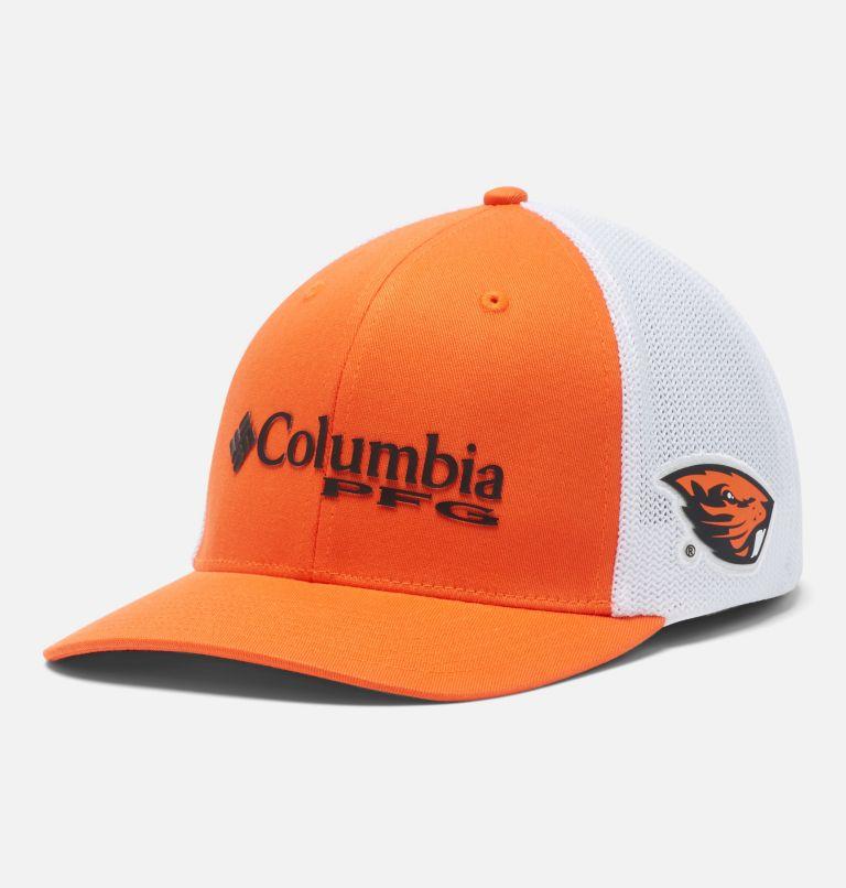 CLG PFG Mesh Snap Back™ Ball Cap   820   O/S PFG Mesh Snap Back™ Ball Cap - Oregon State, OSU - Tangy Orange, front