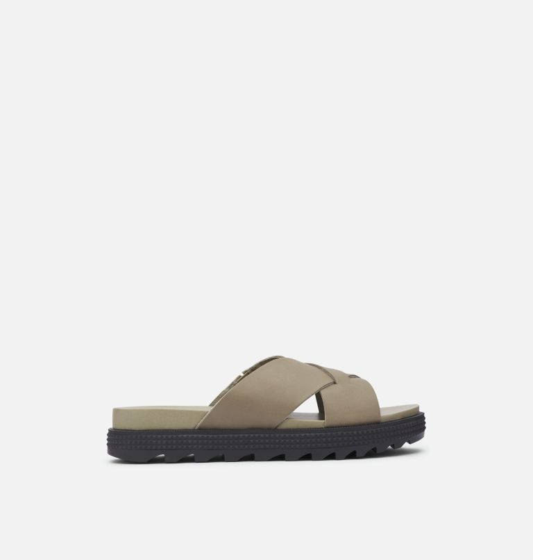 ROAMING™ CRISS CROSS SLIDE | 365 | 7.5 Women's Roaming™ Criss Cross Slide, Sage, front