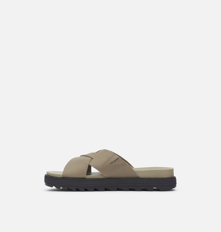 ROAMING™ CRISS CROSS SLIDE | 365 | 5.5 Women's Roaming™ Criss Cross Slide, Sage, medial