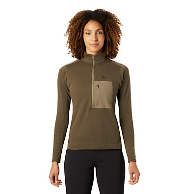 Women's Daisy Chain™ 1/2 Zip Pullover Daisy Chain™ 1/2 Zip Pullover | 333 | M, Light Army, front