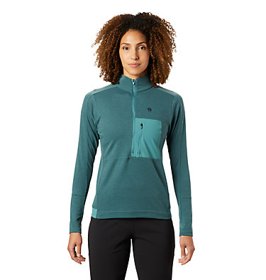 Women's Daisy Chain™ 1/2 Zip Pullover Daisy Chain™ 1/2 Zip Pullover | 333 | M, Washed Turq, front
