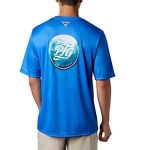 Men's PFG Terminal Tackle™ PhotoReel Short Sleeve Shirt