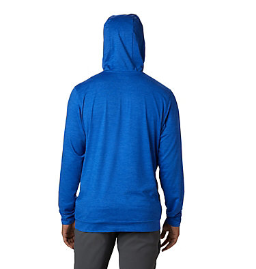 Men's Tech Trail™ Pullover Hoodie Tech Trail™ Pullover Hoodie   437   L, Azul, back