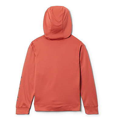 Youth Tech Trek™ Hoodie Tech Trek™ Hoodie | 466 | M, Carnelian Red, back