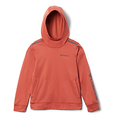 Youth Tech Trek™ Hoodie Tech Trek™ Hoodie | 466 | M, Carnelian Red, front