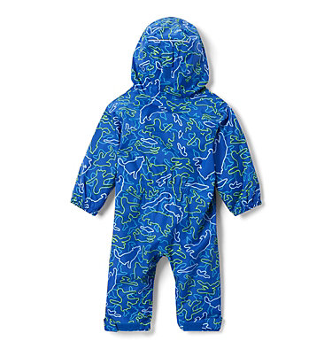 Infant Critter Jitters™ Printed Rain Suit Critter Jitters™Printed Rain Suit | 481 | 0/3, Azul Camo Critters, back