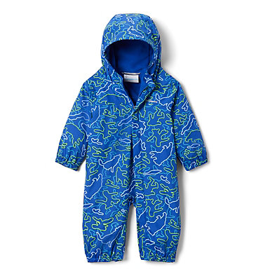 Infant Critter Jitters™ Printed Rain Suit Critter Jitters™Printed Rain Suit | 481 | 0/3, Azul Camo Critters, front