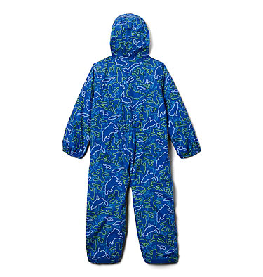 Toddler Critter Jitters™ Printed Rain Suit Critter Jitters™Printed Rain Suit | 481 | 2T, Azul Camo Critters, back