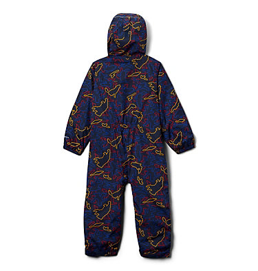 Toddler Critter Jitters™ Printed Rain Suit Critter Jitters™Printed Rain Suit | 481 | 2T, Collegiate Navy Camo Critters, back