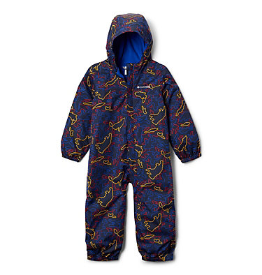 Toddler Critter Jitters™ Printed Rain Suit Critter Jitters™Printed Rain Suit | 481 | 2T, Collegiate Navy Camo Critters, front