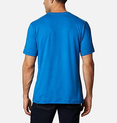 Men's Tech Trail™ Crew Neck Shirt Tech Trail™ Crew Neck | 432 | XL, Bright Indigo, back