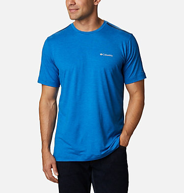 Men's Tech Trail™ Crew Neck Shirt Tech Trail™ Crew Neck | 432 | XL, Bright Indigo, front