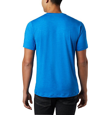 Men's Tech Trail™ Crew Neck Shirt Tech Trail™ Crew Neck | 432 | XL, Azure Blue, back