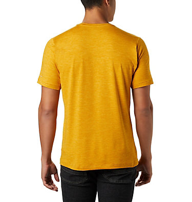 Men's Tech Trail™ Crew Neck Shirt Tech Trail™ Crew Neck | 432 | S, Bright Gold, back
