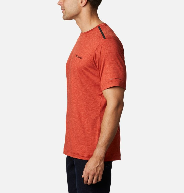 Tech Trail™ Crew Neck | 844 | S Men's Tech Trail™ Crew Neck Shirt, Flame, a1