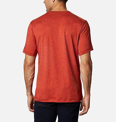 Men's Tech Trail™ Crew Neck Shirt Tech Trail™ Crew Neck | 432 | XL, Flame, back