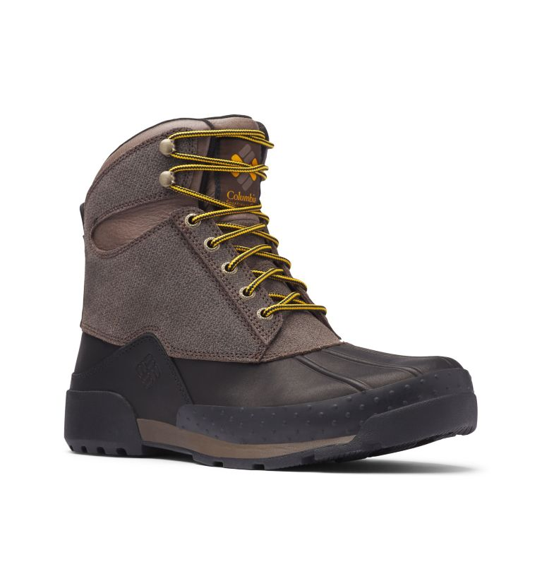 BUGABOOT™ ORIGINAL 3.0 OMNI-HE | 231 | 9 Men's Bugaboot™ Original 3.0 Omni-Heat™ Boot, Cordovan, Golden Yellow, 3/4 front