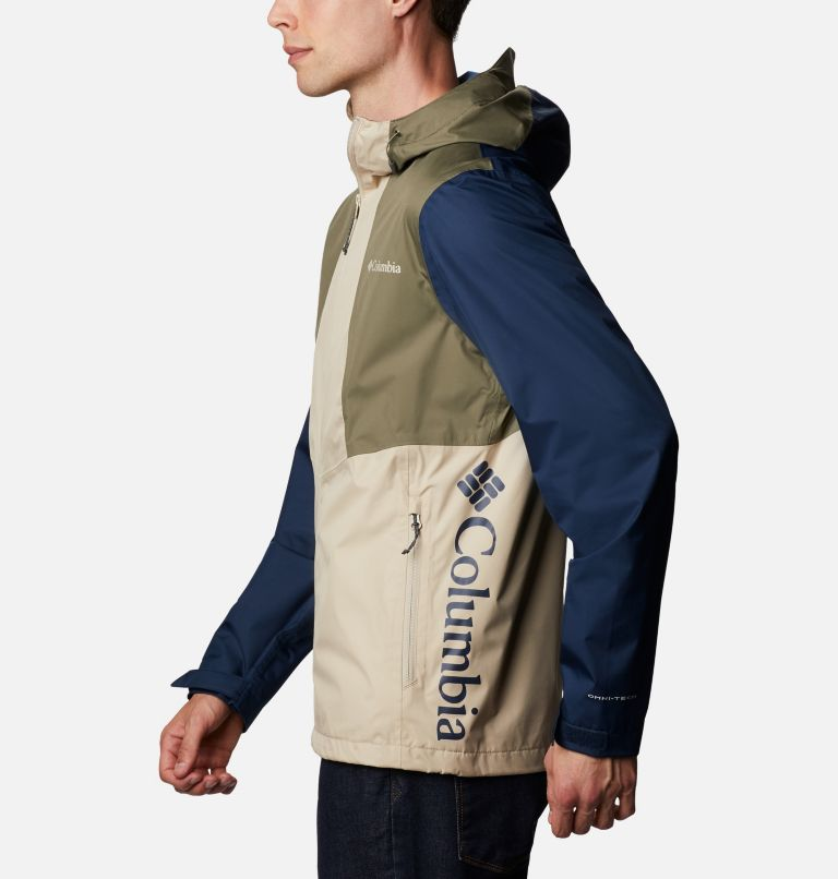 Inner Limits™ II Jacket | 271 | M Men's Inner Limits™ II Jacket, Ancient Fossil, Coll Navy, Stone Green, a1