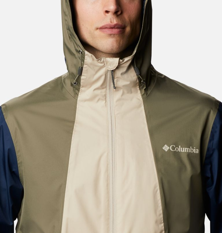 Inner Limits™ II Jacket | 271 | S Men's Inner Limits™ II Jacket, Ancient Fossil, Coll Navy, Stone Green, a2