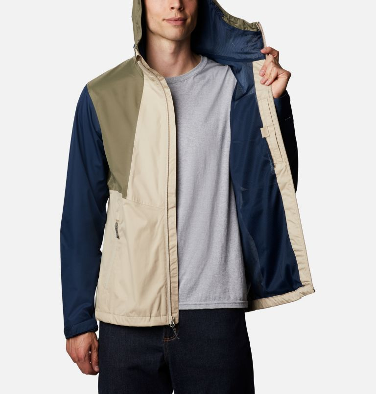 Inner Limits™ II Jacket | 271 | M Men's Inner Limits™ II Jacket, Ancient Fossil, Coll Navy, Stone Green, a3