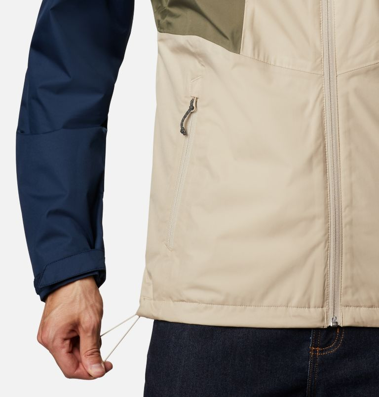 Inner Limits™ II Jacket | 271 | S Men's Inner Limits™ II Jacket, Ancient Fossil, Coll Navy, Stone Green, a4