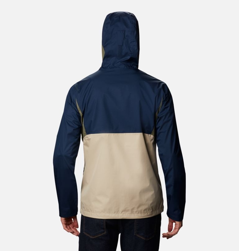 Inner Limits™ II Jacket | 271 | S Men's Inner Limits™ II Jacket, Ancient Fossil, Coll Navy, Stone Green, back