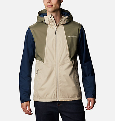 Men's Inner Limits™ II Jacket Inner Limits™ II Jacket | 465 | L, Ancient Fossil, Coll Navy, Stone Green, front