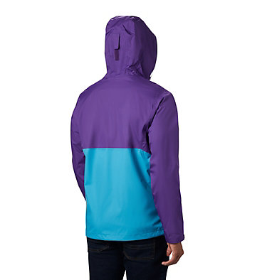 Men's Inner Limits™ II Jacket Inner Limits™ II Jacket | 362 | L, Clear Water, Vivid Purple, back