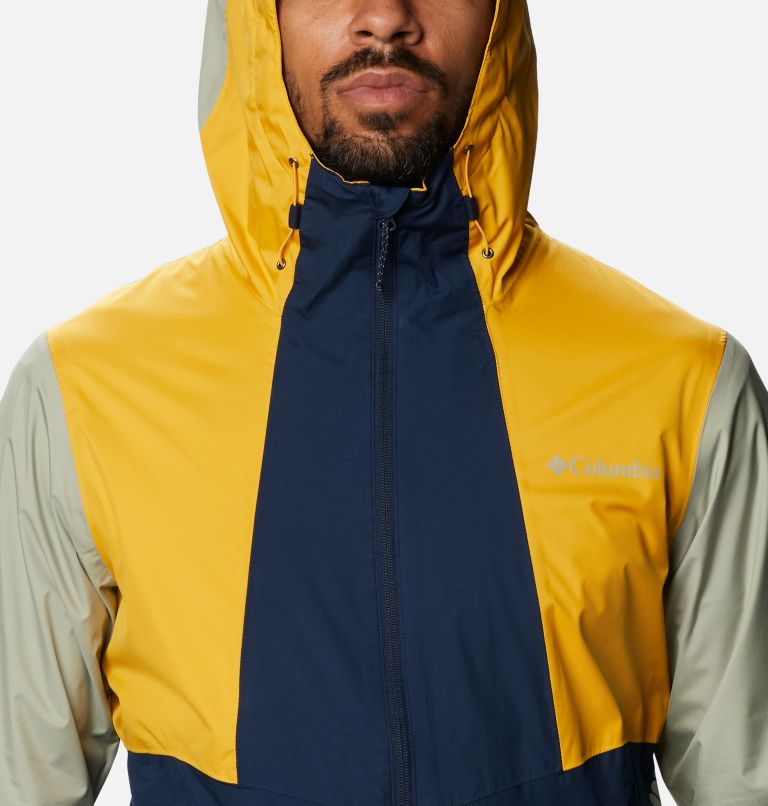 Inner Limits™ II Jacket   469   S Men's Inner Limits™ II Jacket, Collegiate Navy, Bright Gold, Safari, a2