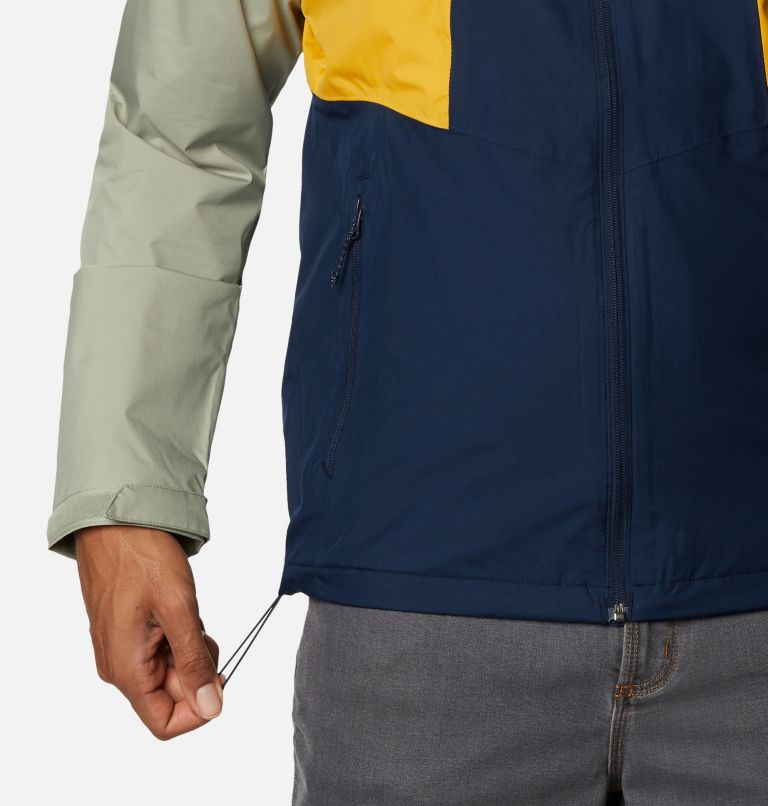 Inner Limits™ II Jacket   469   S Men's Inner Limits™ II Jacket, Collegiate Navy, Bright Gold, Safari, a4