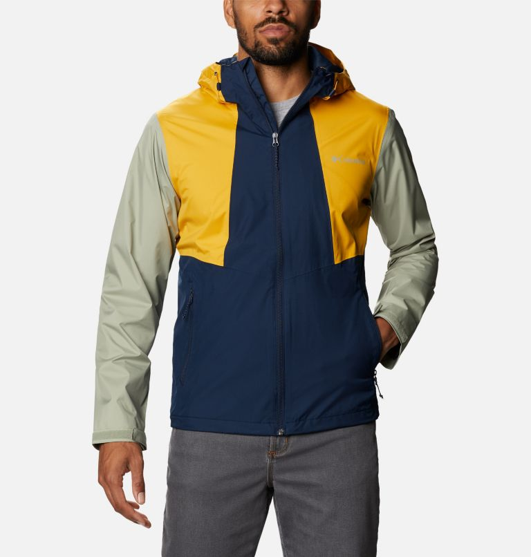 Inner Limits™ II Jacket   469   S Men's Inner Limits™ II Jacket, Collegiate Navy, Bright Gold, Safari, front